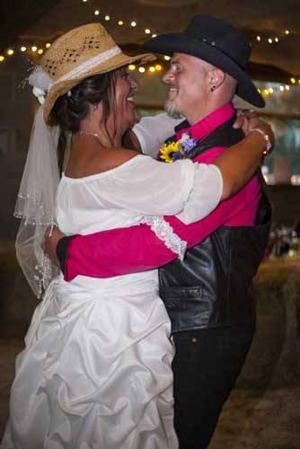 married couple dancing